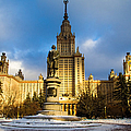 Main Building Of Moscow State University On Sparrow Hills - 2 - Featured 3 by Alexander Senin