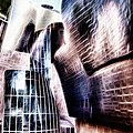 Main Entrance Of Guggenheim Bilbao Museum In The Basque Country Fractal by Weston Westmoreland