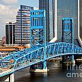 Main Street Bridge Jacksonville Florida by Bill Cobb