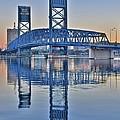 Main Street Bridge Jacksonville Florida by Frozen in Time Fine Art Photography