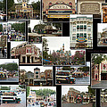 Main Street Disneyland Collage 02 by Thomas Woolworth