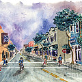 Main Street Half Moon Bay by Diane Thornton