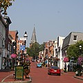 Main Street In Downtown Annapolis by Christiane Schulze Art And Photography