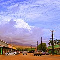 Main Street Kaunakakai by James Temple