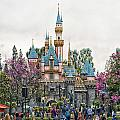 Main Street Sleeping Beauty Castle Disneyland 01 by Thomas Woolworth