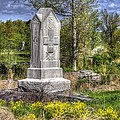 Maine At Gettysburg - 5th Maine Volunteer Infantry Regiment Just North Of Little Round Top by Michael Mazaika