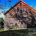 Maine Barn by Marcia Lee Jones