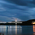 Maine Bridge And Fort Knox  by Barbara West