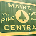 Maine Central The Pine Tree Route by Edward Fielding