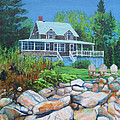 Maine Cottage by Jeff Seaberg