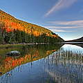 Maine Fall Foliage Glory At Bubble Pond  by Juergen Roth