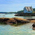 Maine Fishing Port by Olivier Le Queinec
