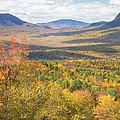 Maine Mountains In Fall Mount Blue State Park  by Keith Webber Jr