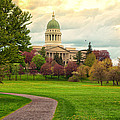 Maine State Capitol Building by Norm Rodrigue
