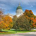Maine State House Vii by Clarence Holmes