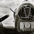 Majestic B17 Bomber From Ww II by M K Miller