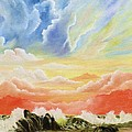 Majestic Clouds by Janet Hufnagle