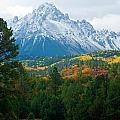 Majestic Mt. Sneffels by John Hoffman