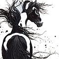 Majestic Pinto Horse by AmyLyn Bihrle