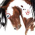 Majestic Pinto Horse 129 by AmyLyn Bihrle
