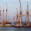 Majestic Tall Ships by Rosanne Bartlett