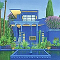 Majorelle Gardens, Marrakech by Larry Smart