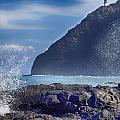 Makapuu Point Lighthouse- Oahu Hawaii V2 by Douglas Barnard