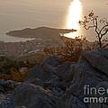 Makarska - Evening Light by Phil Banks