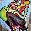 Make Love With The Guitar by Corinna Lorena Carrara