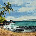 Makena Beach by Darice Machel McGuire