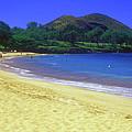Makena Beach Maui Hawaii by John Burk