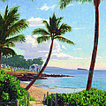 Makena Beach - Maui by Steve Simon