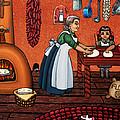 Making Tortillas by Victoria De Almeida
