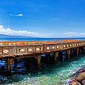 Mala Wharf Panorama 1 by Dawn Eshelman