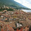 Malcesine Lake Garda by David Miller