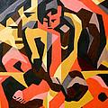 Male Nude by Carol Tsiatsios