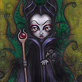 Maleficent  by Abril Andrade Griffith