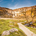 Malham Cove In Malhamdale by David Head