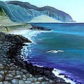 Malibu Beach by Lora Duguay
