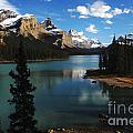 Maligne Lake Beauty Of The Canadian Rocky Mountains by Bob Christopher