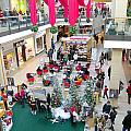 Mall Before Christmas by Valentino Visentini