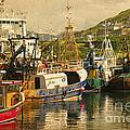 Mallaig Harbourside  by Rob Hawkins