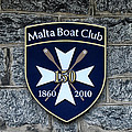 Malta Boat Club by Bill Cannon