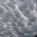 Mammatus Clouds Over Yorkton by Ryan Crouse