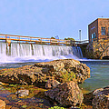Mammoth Spring Dam And Hydroelectric Plant - Arkansas by Jason Politte