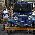 Man And His Jeep by David B Kawchak Custom Classic Photography