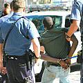 Man Arrested. by Oscar Williams