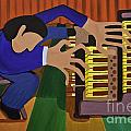 The Organist by James Lavott