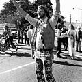 Man At Vietnam War Protest by Underwood Archives Adler