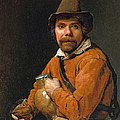 Man Holding A Jug by Michiel Sweerts